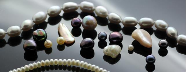 Pearl gemstone jewellery June Birthstone