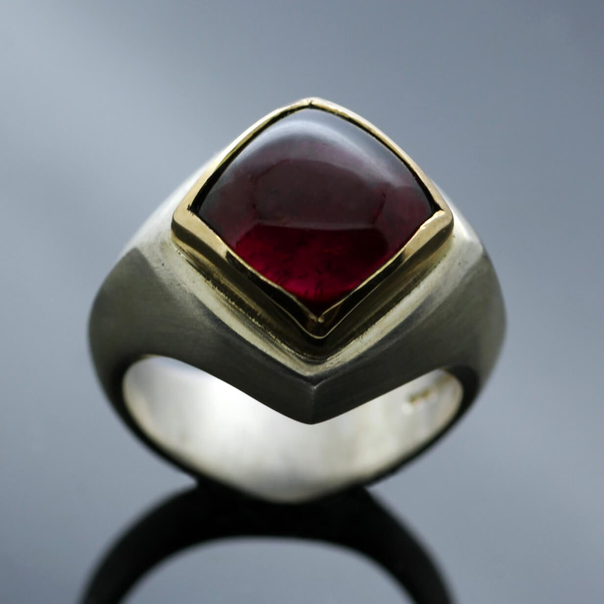 The Abbey Collection featuring contemporary Tourmaline gemstone rings