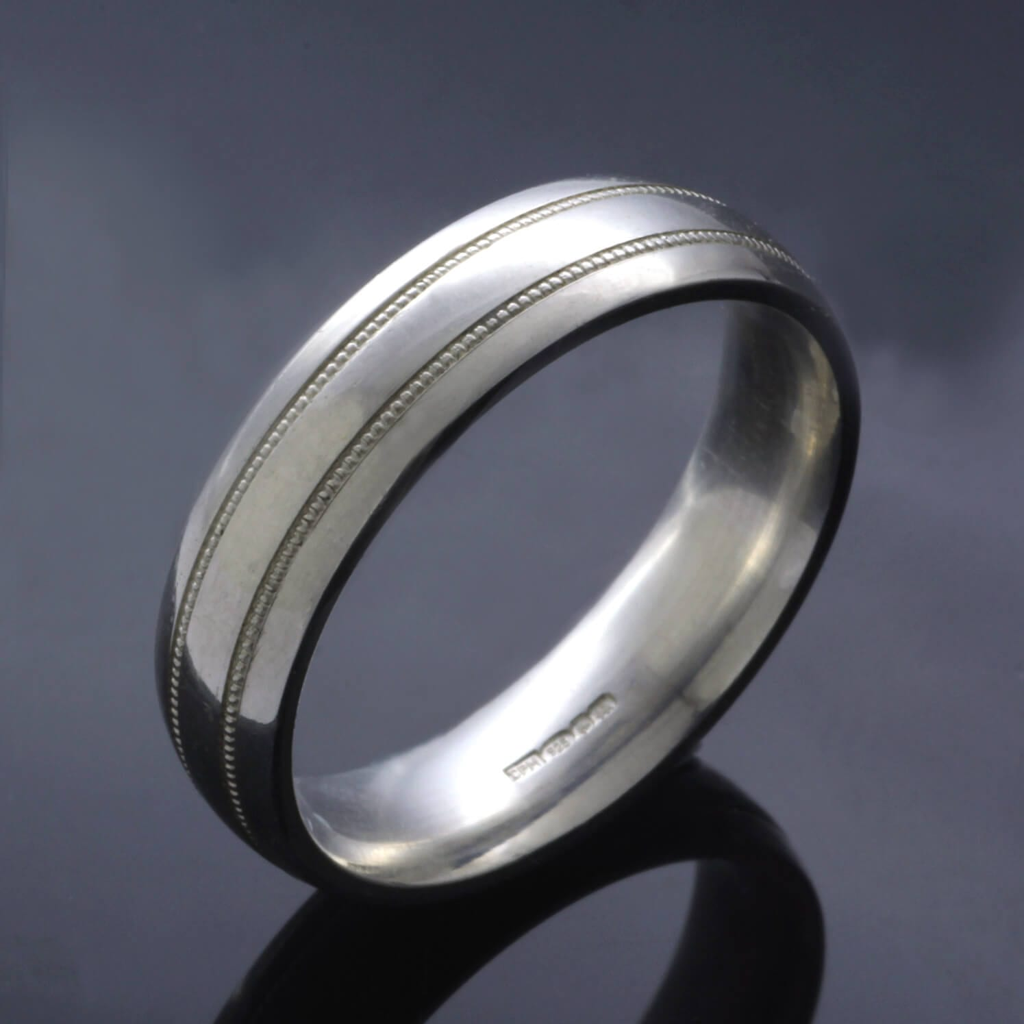 Bespoke mens wedding ring design by Julian Stephens Goldsmith