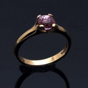Modern, chic engagement rings handcrafted by Julian Stephens