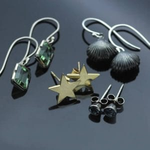 handcrafted earrings modern designs brighton jeweller
