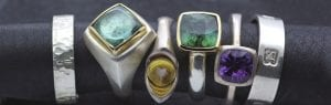 Brighton jeweller goldsmith handmade rings